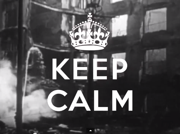 keep calm and carry on film