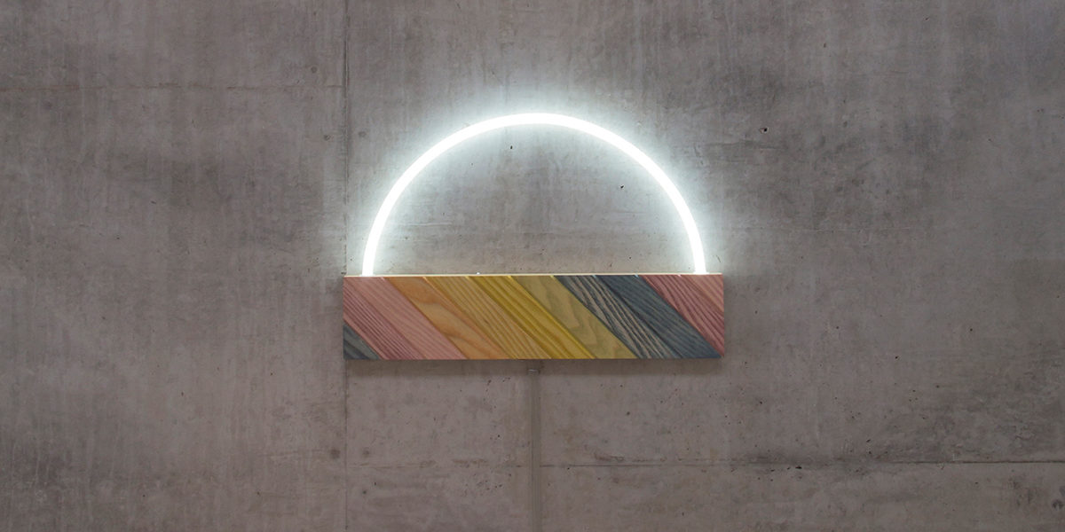 Petra Lilja, The Sky, neon lamp, 2015